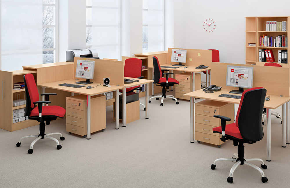 Офисная мебель: требования и принципы выбора