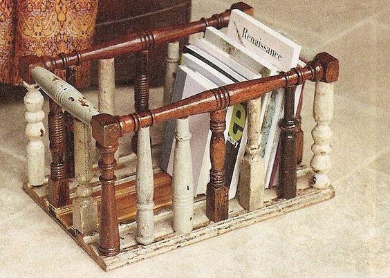 Деревянные балясины - нетрадиционные идеи использования
