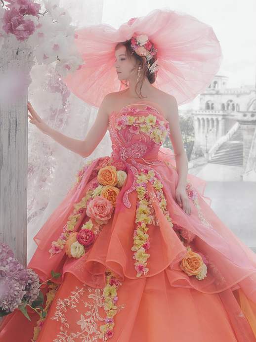 Цветные свадебные платья от Stella De Libero