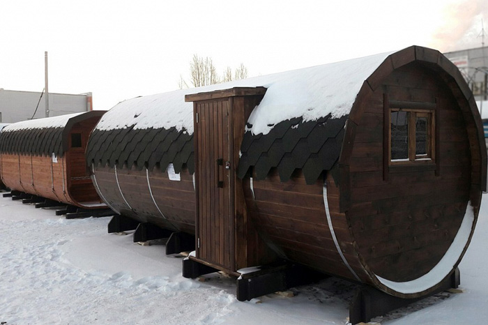 Недорогие бани для дачи