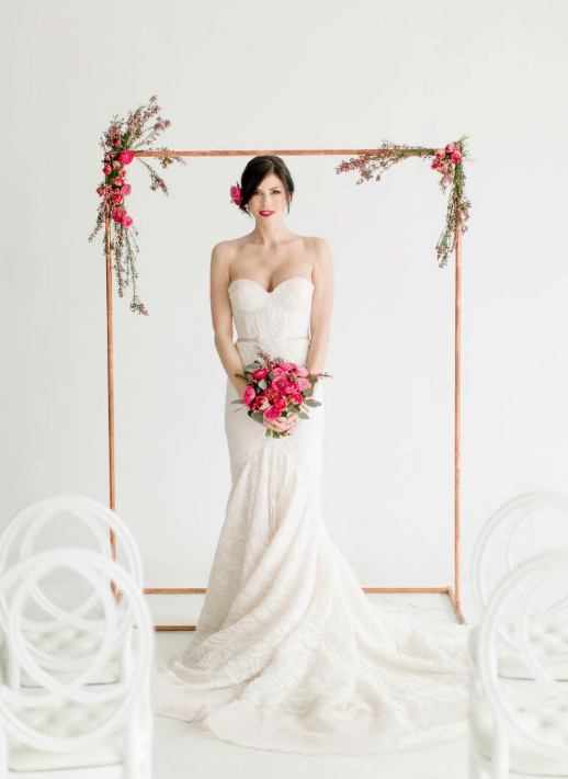 Идеи оформления места свадебной церемонии