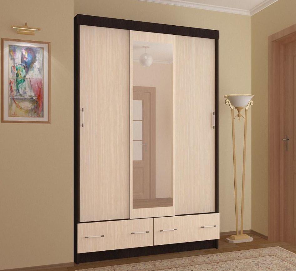 Шкаф-купе в интернет-магазине Fcase.ru: алгоритм заказа мебели