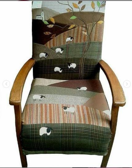 Идеи для ремонта текстильных кресел