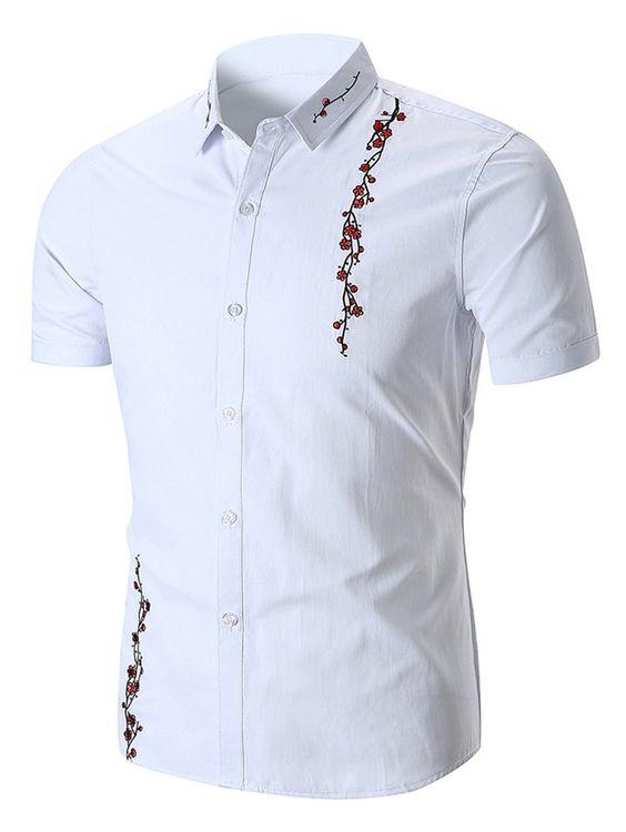 Мужские сорочки: идеи для росписи