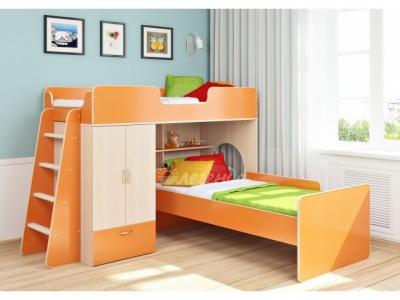 Детские двухъярусные кровати: разнообразие моделей и их особенности