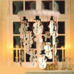 Адвенткалендарь Новогодние снеговики