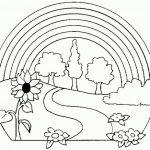 Рисунки с радугой