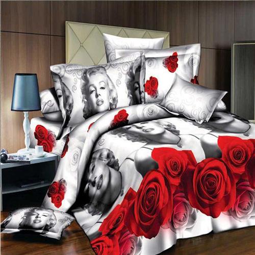 Уютная спальня для девушки в стиле Мерилин Монро