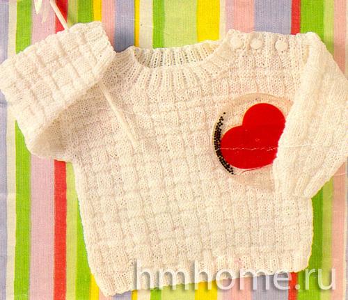 Вязание спицами малышам