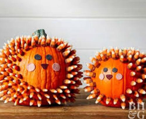 Милые тыковки для Хэллоуина