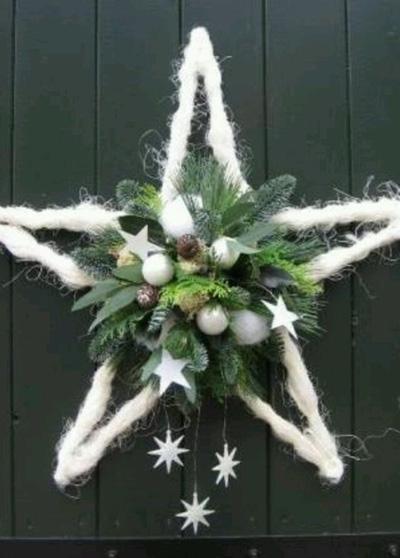 Идеи декора: рождественские звёзды