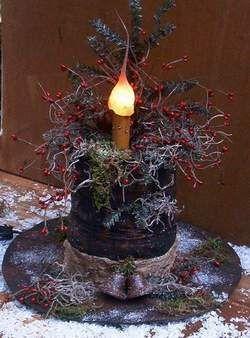Нарядный цилиндр для снеговика