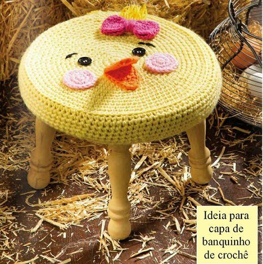 Вязаные стулья для детской комнаты