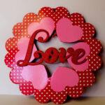 Праздничные венки ко Дню святого Валентина