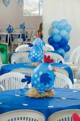 Пасхальный декор из воздушных шаров