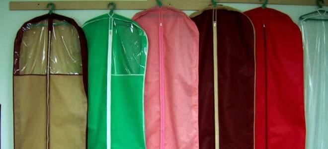 Чехлы для одежды: разновидности и особенности