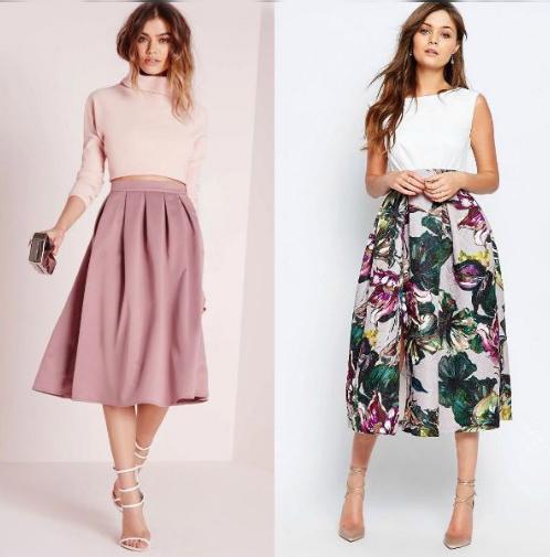 Какие юбки в моде в 2018 году?