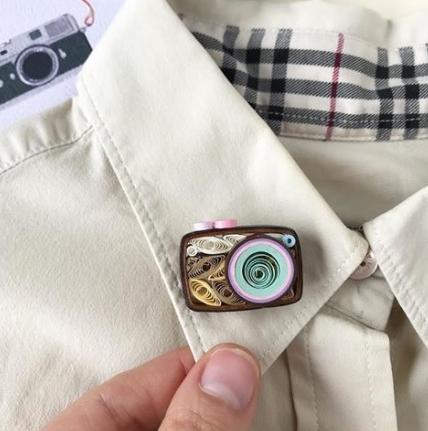 Бумажные украшения в технике квиллинг