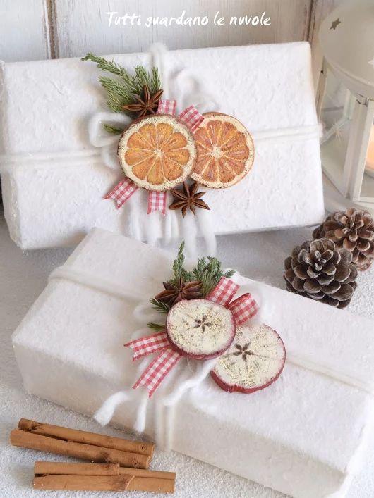 Идеи упаковок для новогодних подарков