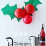 Простой декор для новогодней офисной вечеринки
