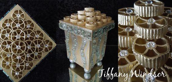 Красивый декор из макаронных изделий