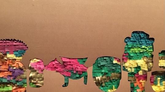 Картины из бумажной бахромы
